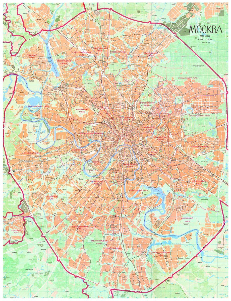 Карта Москвы 80-х годов (1989г.): http://moscowchronology.ru/citymaps_80s.html
